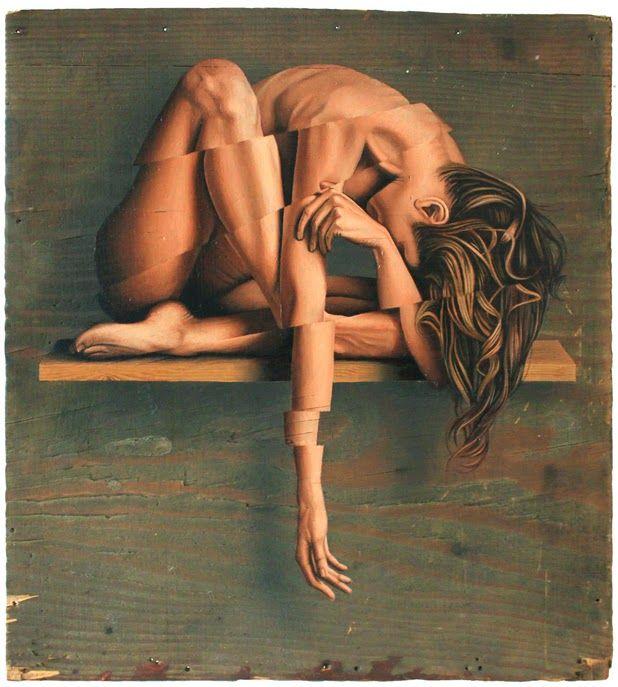 Paintings by James Bullough | http://ineedaguide.blogspot.com/2015/04/james-bullough.html | #art #paintings