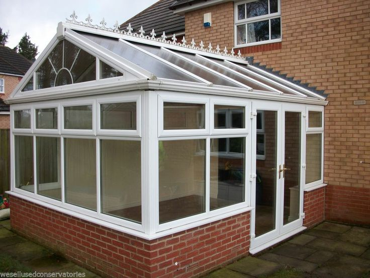 Used Pvcu Large White Upvc Conservatory 4495 mm x 3650 mm
