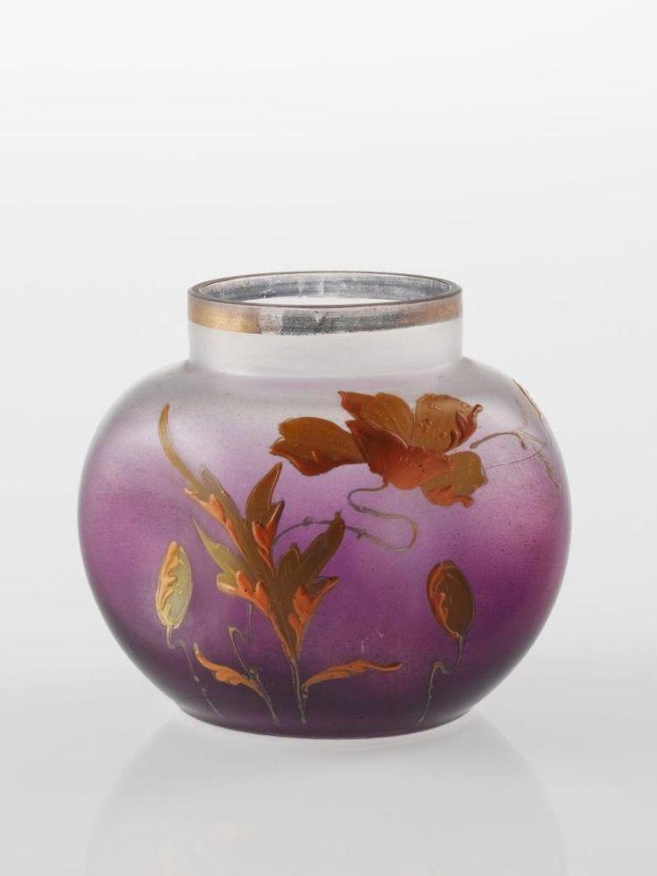 Vase, Germany, ca. 1910. Het Nationaal Glasmuseum, CC BY