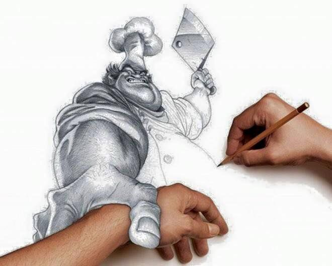 98 best res m 3 d images on pinterest 3d drawings for Amazing hand drawings