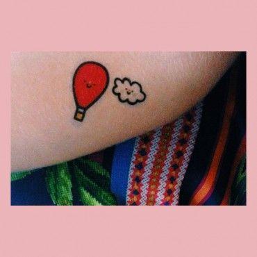 Tatuagem Temporária Circo II