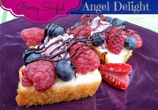 Berry Sinful Angel Delight Recipe #ad http://www.outnumbered3-1.com/2013/10/simple-no-bake-berry-sinful-angel-delight-cake-recipe.html