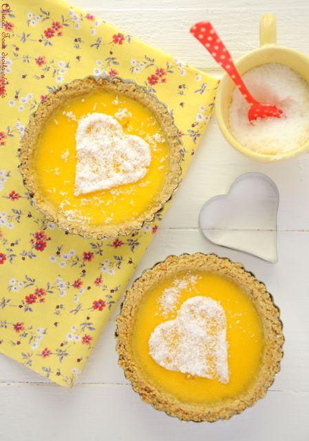 Tarte au citron saine et « raisonnable », histoire de pouvoir en reprendre 3 fois (Recette sans lait, à IG bas)