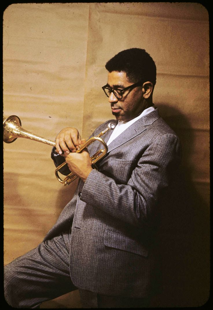 Young Dizzy Gillespie ~ Jazz favorites of Tommy and Beth ~ The Final Piece by Maggi Myers