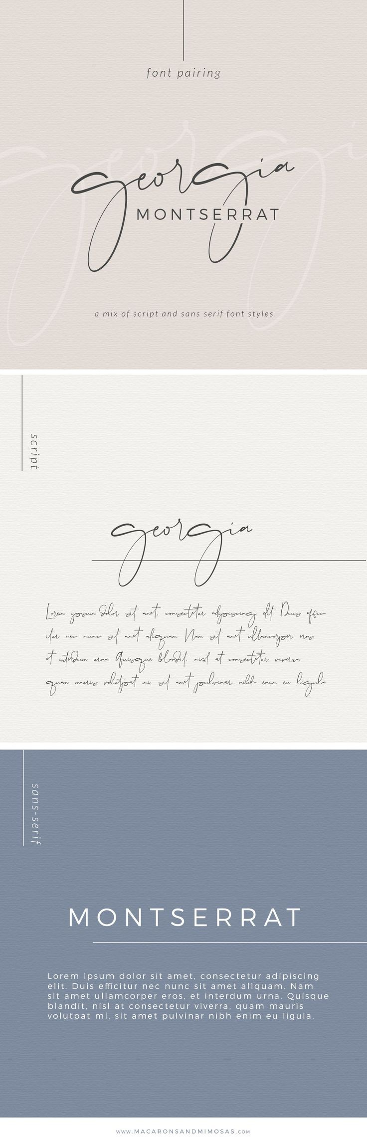 Font Pairing • April