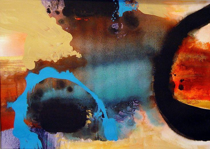 """Dreams"" by Bianka Guna 2005 Series Acrylic On Watercolour  Paper 22"" x 30"""