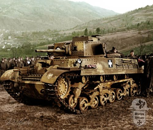 Hungarian 40M Turan Medium Tank