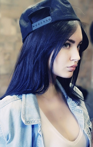 25 best images about Dark Blue Hair on Pinterest ...