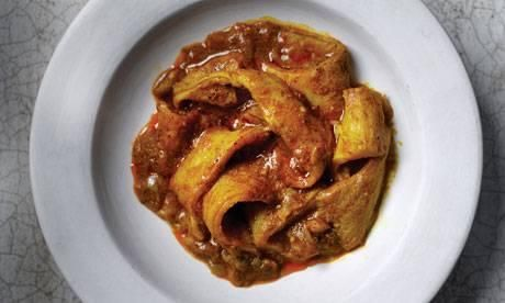 Curried tripe recipe - My New Year's resolution recipe!