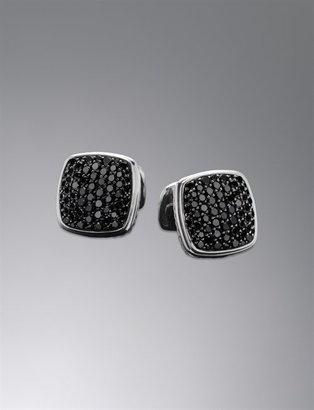 Black Diamond Cufflinks, 18mm: David Yurman, Diamonds Cuffs, Davidyurman Com, Men Accessories, Men Fashion, Diamonds Cufflinks, Men Cufflinks, Cuffs Link, Black Diamonds