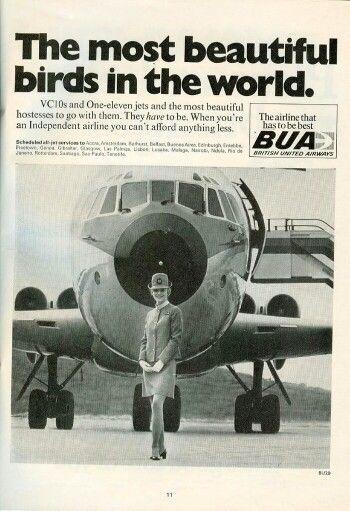 BUA, British United Airways Advert