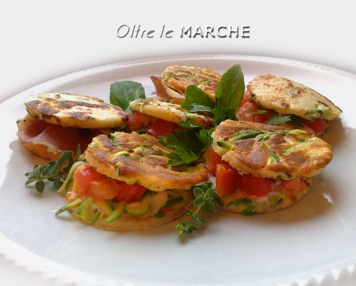 Pancake salati antipasti veloci | Oltre le Marche
