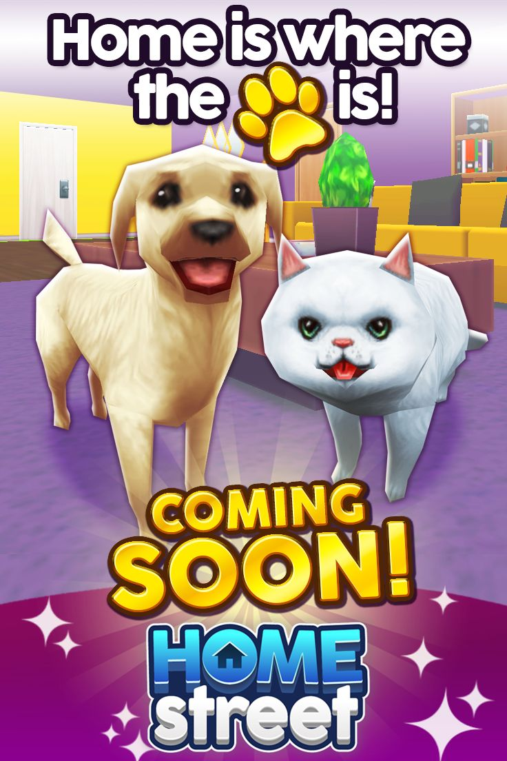 No home is complete without the pitter-patter of pet feet. PETS are coming soon to Home Street!