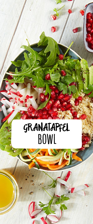Granatapfel Bowl