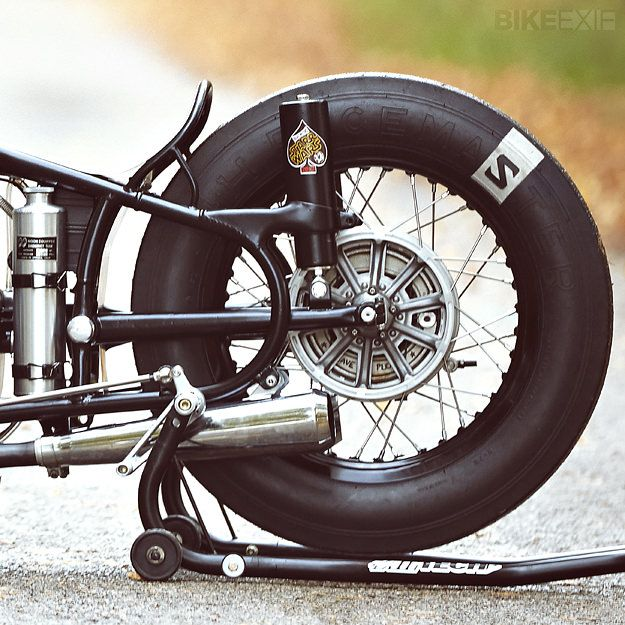 Sprintbeemer By Lucky Cat Garage Bobber Bikes Garage Bike Bike Exif