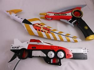 Power Rangers Weapons | Power-Rangers-Light-Sound-Weapons-SPD-Delta-Blaster-Yellow-Red-Sword ...