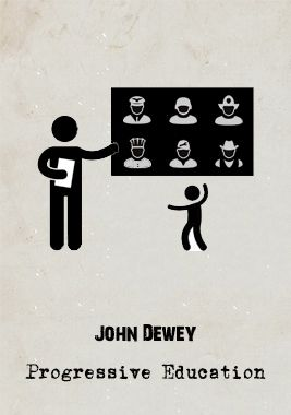 For #Dewey, #education had been plagued by an obsession to mould a student's mind to an accepted norm based on a set and standardised #curriculum. Progressive Education, presented as an alternative, argues that education should ultimately fit the needs of the student not only in their interests, needs and wants but also in what role they want to play in society. It is not simply 'doing what you want' but coming to share a 'social conciousness' and how we all can contribute to our #society.