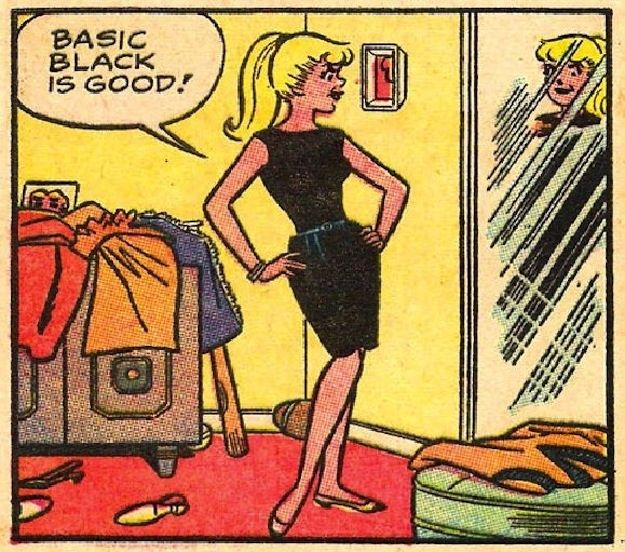 This classic LBD. | Community Post: 31 Totally Wearable Vintage Archie Comics Looks For Girls