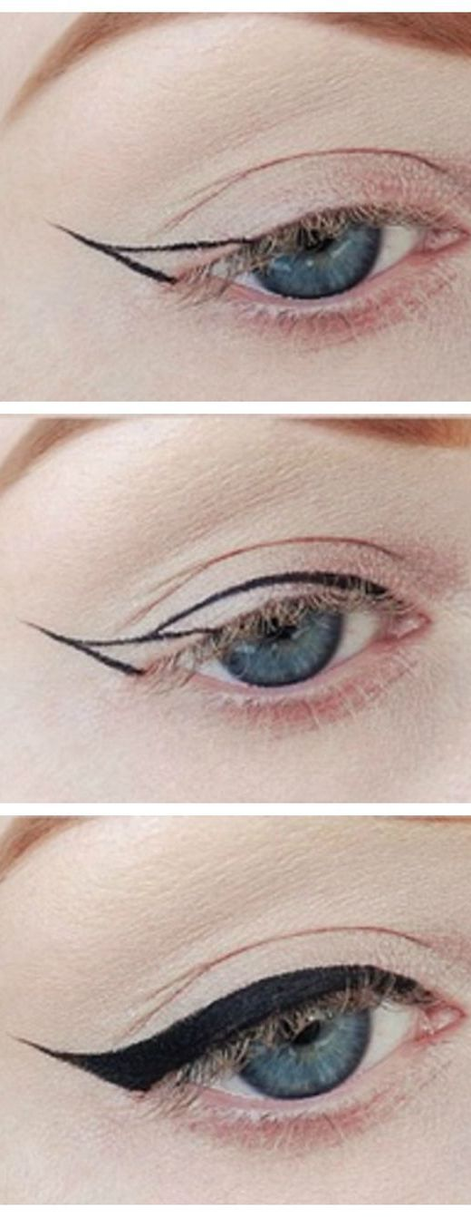 10 Simple Step-By-Step Eyeliner Tutorials For Novices