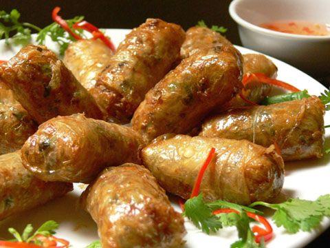 Nems traditionnels du Vietnam