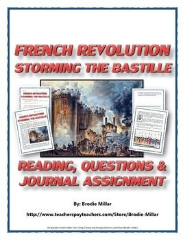 the storming of your bastille composition topics