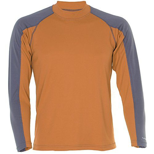 Taimen.com Taimen Brook Base Layer Top Pewter/Golden Oak