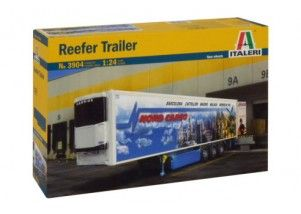 "REEFER TRAILER - ""nuove ruote""      scala 1:24"