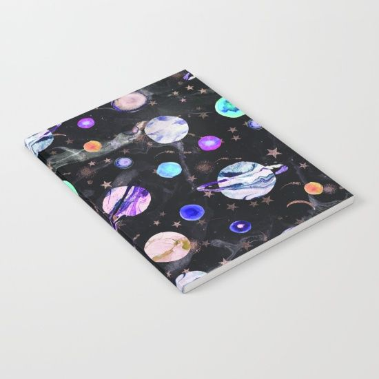 Marble Galaxy Notebook