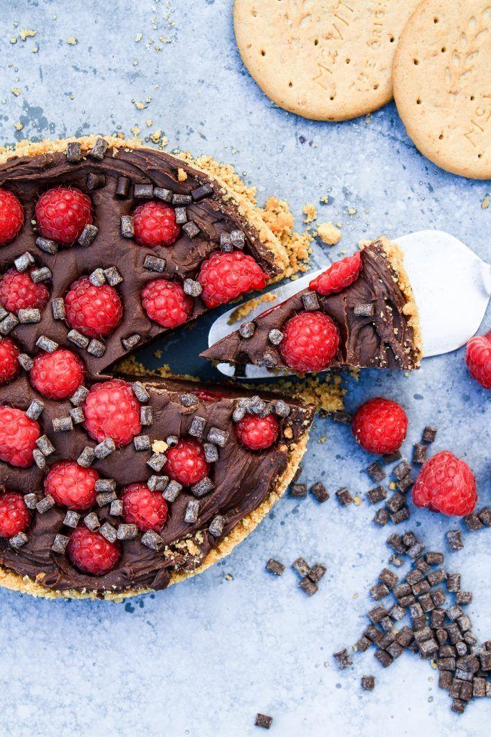 No bake Chokladfudgepaj