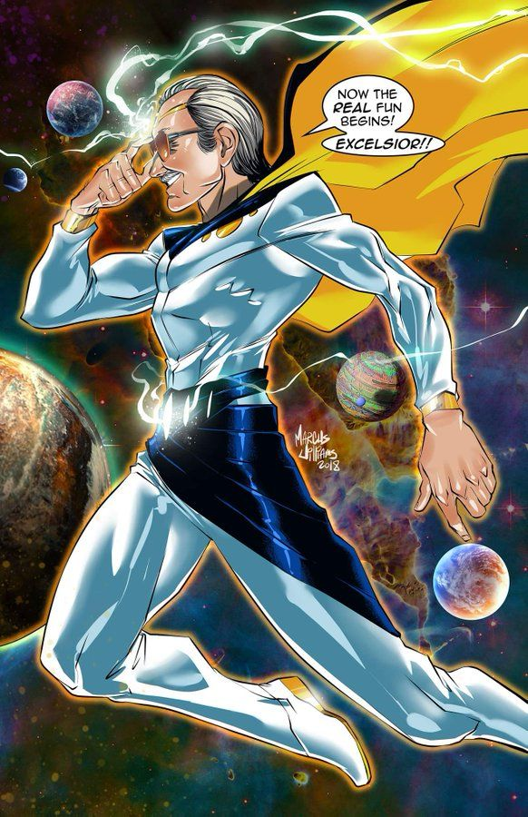 Stan Lee Cosmic Hero