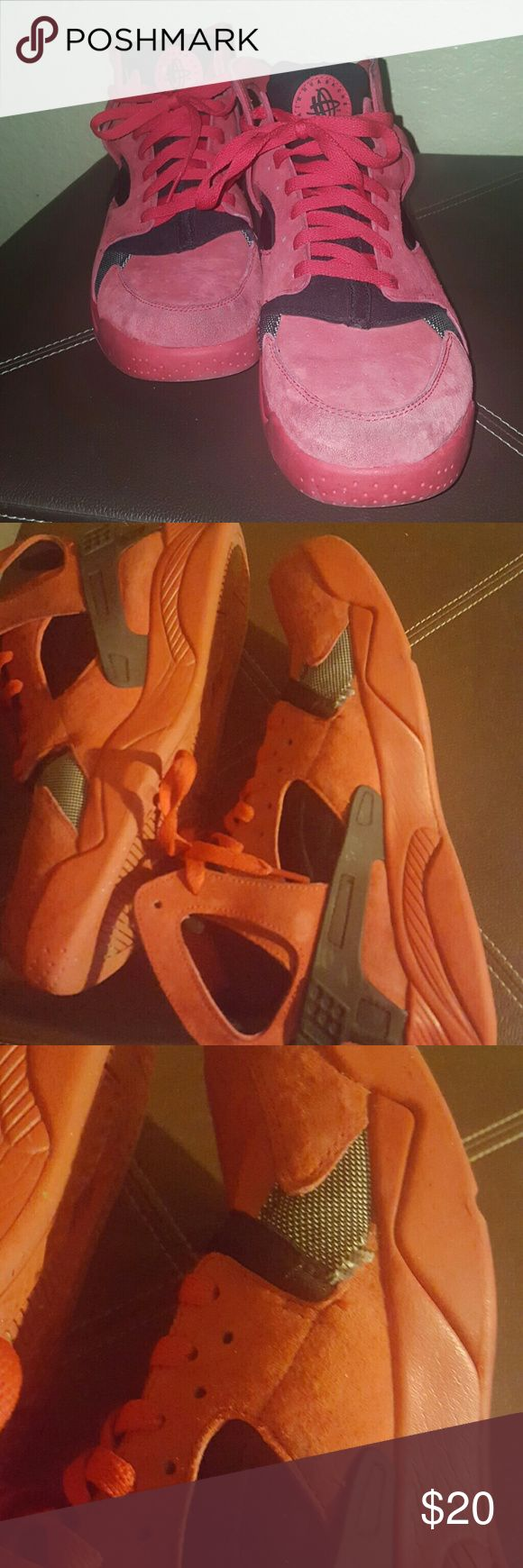 Huarache Air Flights High top Nike Huarache Nike Shoes Sneakers