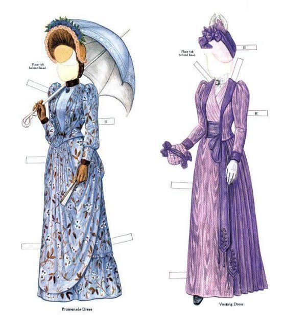 Victorian Bride and her trousseau Paper dolls - Maria Varga - Álbumes web de Picasa