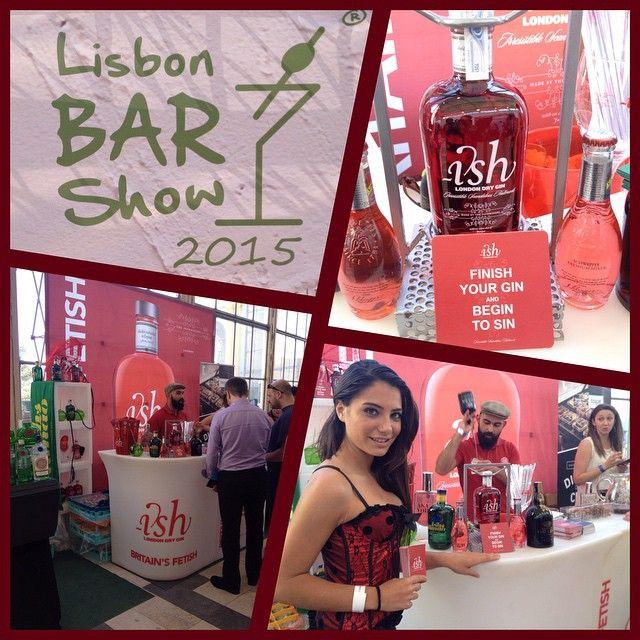 Lisbon Bar Show - Ish Dry Gin. Hoje e amanhã na Tapada da Ajuda. Visite nos! #eventos #work #jfd_ideas_and_details #jfdideasanddetails #ish