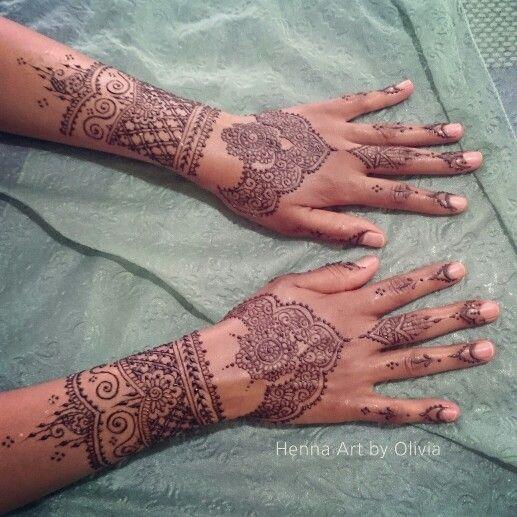 Simple bridal henna - by Henna Art ny Olivia