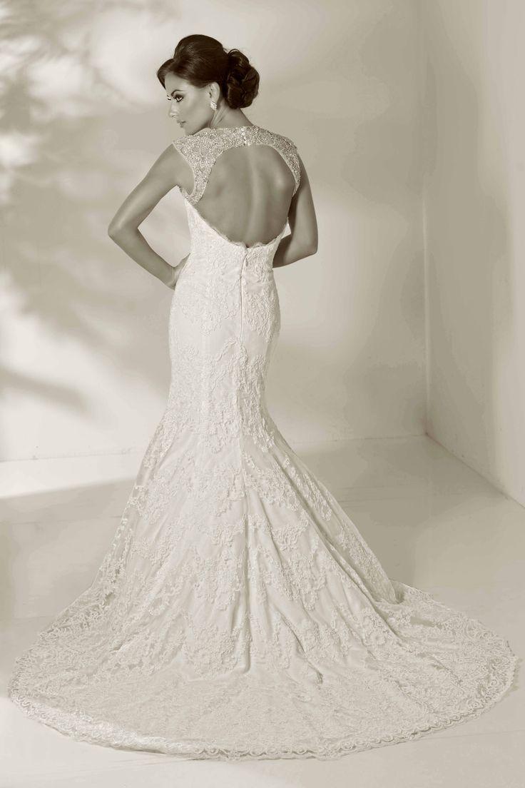 Runway-Worthy Cristiano Lucci Wedding Dresses. To see more: http://www.modwedding.com/2014/01/05/runway-worthy-cristiano-lucci-wedding-dresses/ #wedding #weddings #fashion