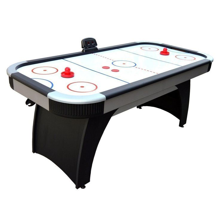 Silverstreak 6-ft Air Hockey Table - LED Scoring