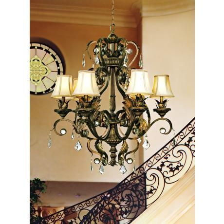 Kathy Ireland Ramas De Luces Bronze 30 Quot Wide Chandelier