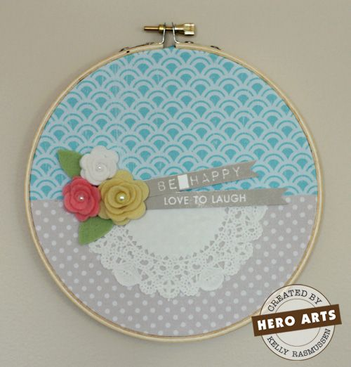 Ideas about embroidery hoop decor on pinterest