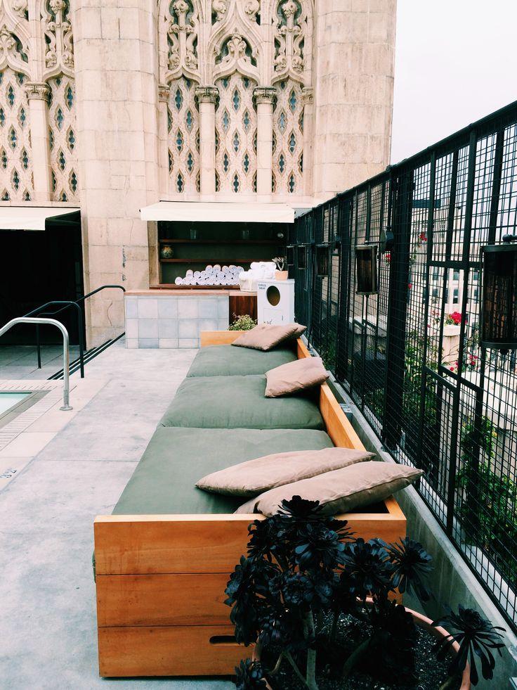 #ace #acehotel #hipsterheaven #la #losangeles #dtla #rooftop #rooftopbar #acerooftop Photography by @Arneri Design #arneridesign