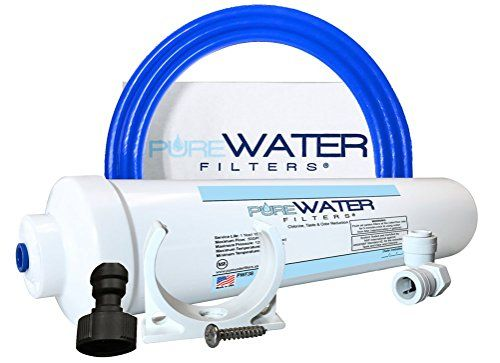 Under Sink Water Filter Install Kit, Complete Filtration System for Kitchen and Bathroom Faucets #Under #Sink #Water #Filter #Install #Kit, #Complete #Filtration #System #Kitchen #Bathroom #Faucets