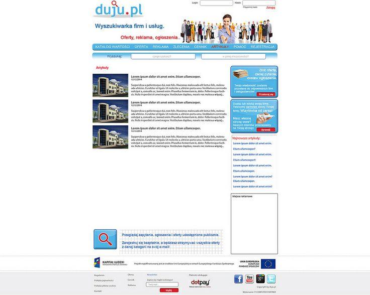 www.duju.pl - tanie pozycjonowanie. Katalog firm.