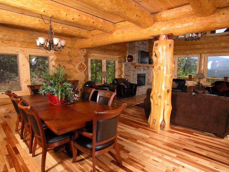 Log Home Interior Pictures | Highlands Log Structures | Log Homes: Interior  Gallery Part 81