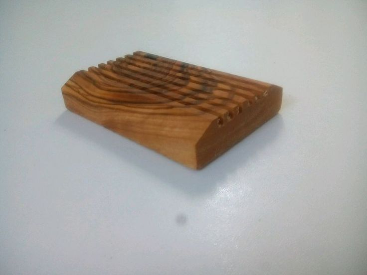 Handmade soap dishes ,Natural olive wood soap for savon home decor brown Gift