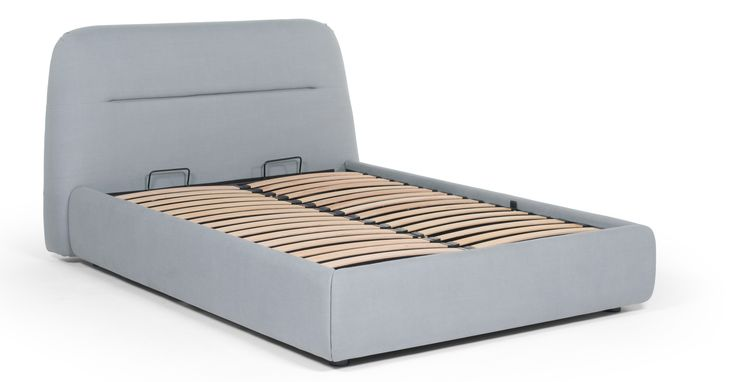 Fosse Double Storage Bed, Persian Grey