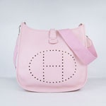 Hermes Evelyne Bag 6309 Pink  $198.00