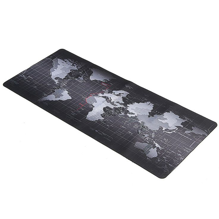 900x400mm World Map Computer Gaming Mousepad Utral Large Size Speed  Keyboard Mouse Pad Rubber Mat Gamer
