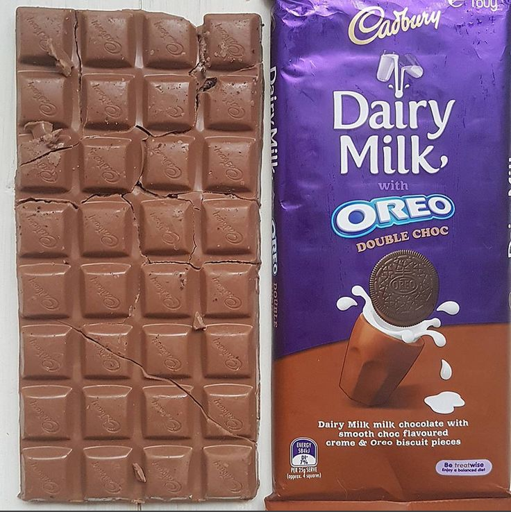 Cadbury Dairy Milk Oreo Double Choc Bar