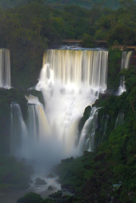 ✮ Iguazu Falls at Dusk - Brazil
