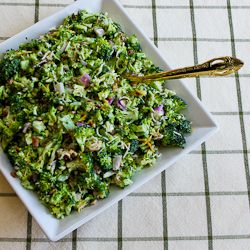 Recipe for Sweet and Sour Broccoli Salad (Version 2.0) [from Kalyn's ...