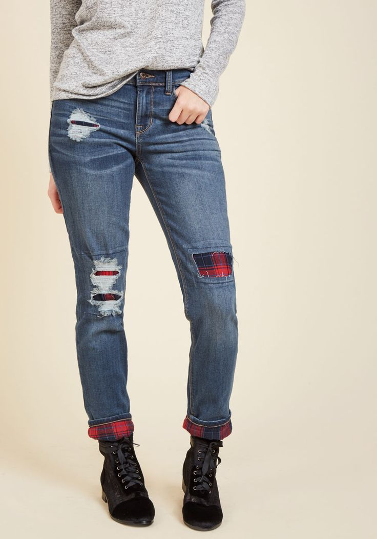 Cabin to Manhattan Jeans in Mid Wash, #ModCloth